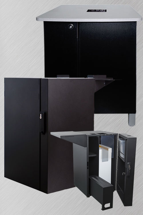 Cafection - Assembled cabinets